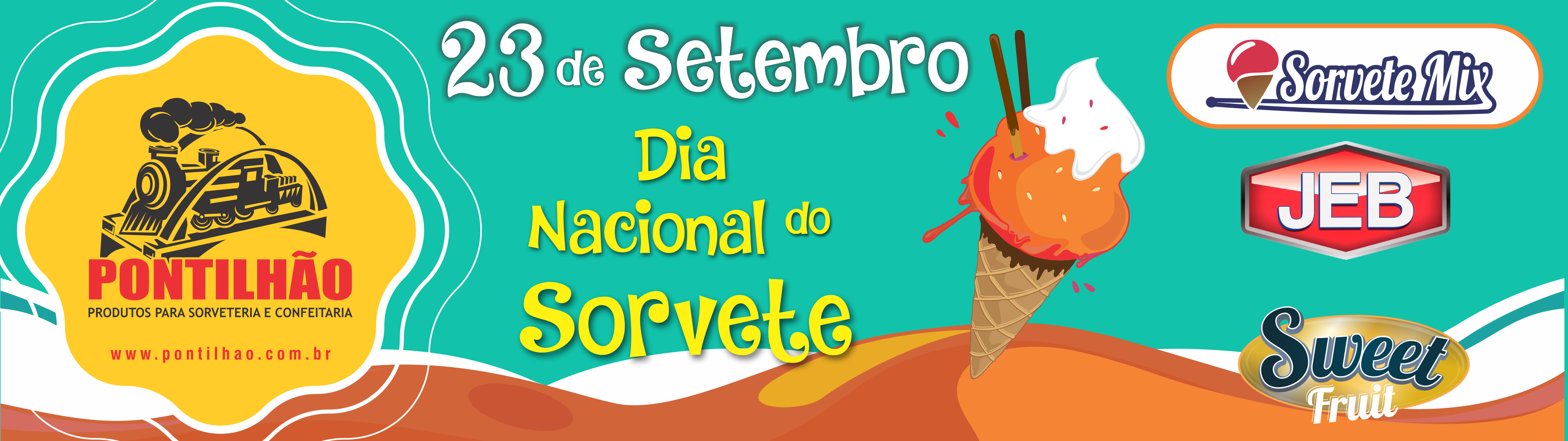 Capa dia do Sorvete